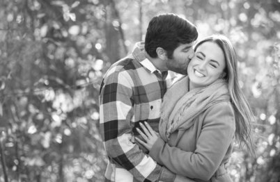 ENGAGEMENT PHOTOGRAPHY IN FOREST PARK BY LEAH MARTIN