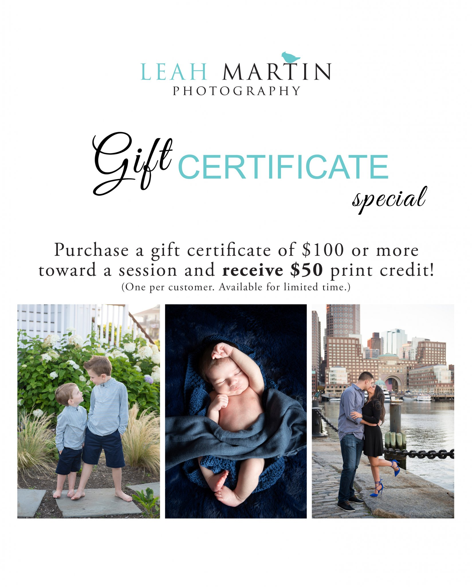 Gift Certificate Promotion