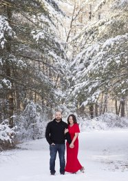WINTER ENGAGEMENT PHOTOGRAPHY BY LEAH MARTIN