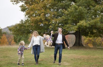 Fall Family Photography by Leah Martin