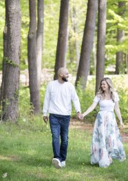 LOOK PARK ENGAGEMENT PHOTOGRAPHY BY LEAH MARTIN